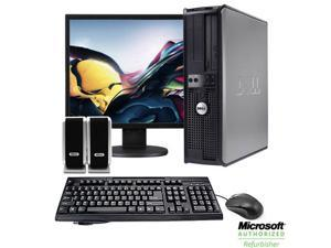 "Dell Optiplex 19"" LCD Desktop Computer Package - Dual Core 2GB Memory, 80GB, 1.8GHz, Keyboard, Mouse, Speakers (1 Year Warranty)"