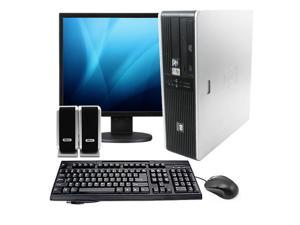 "HP 19"" LCD Desktop Computer Package - Dual Core 2GB Memory, 80GB, Windows 7 Home Premium, Keyboard, Mouse, Speakers (1 Year ..."