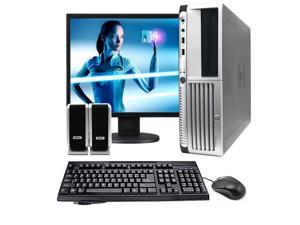 "HP DC5100 SFF Computer Package - 2.8GHz Intel Pentium 4 Processor - 2GB - 17"" LCD Monitor - Windows 7 Home Premium (1 Year ..."