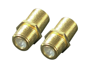 Rca Vh66n Coaxial Cable Feed Connectors, 2 Pk