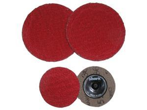 "3""60 Red Grit Ceramic Mini Grinding Discs/25 Pack"