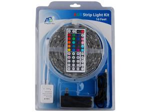 ABI 150-LED Color Changing Light Strip with 44-Key Remote, Waterproof (16FT)