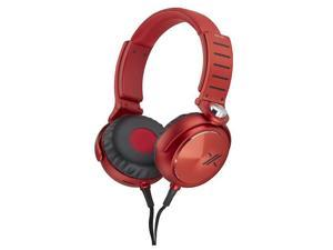 Sony MDR-X05/BR Simon Cowell X Headphone - Black/Red