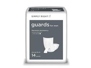 Simply Right Guards for Men, One Size Fits All (84 ct.) by Simply Right
