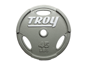 Troy Machined Interlocking 35lb Grip Plate