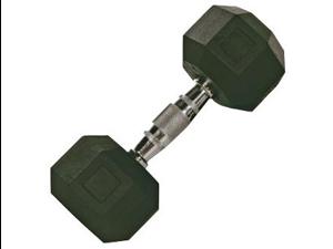 VTX 30lb Individual Rubber Encased Octagonal dumbbell