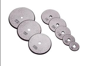 "USA Sports Gray Standard 1"" 20lb Plate"
