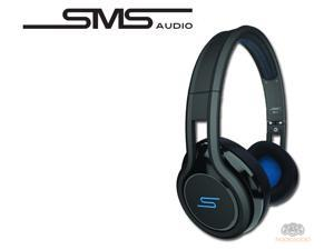 SMS Audio SMS-ONWD-BLK STREET by 50 Wired On-Ear Headphones - Black