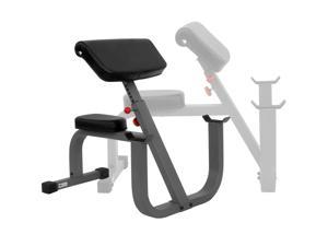 XMark Commercial Seated Preacher Curl Weight Bench