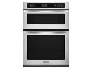 Kitchenaid  KEMS309BSS:  30-Inch  Convection  Combination  Microwave  Wall  Oven,  Architect  ®  Series  II  -  Stai