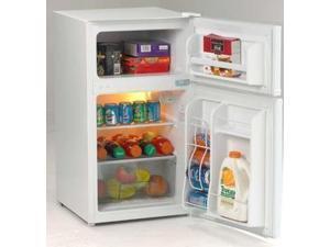 Avanti  RA3106WT:  Model  RA3106WT  -  3.1  CF  Two  Door  Counterhigh  Refrigerator  -  White