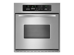 Kitchenaid  KEBC147VSS:  24-Inch  Convection  Single  Wall  Oven,  Architect  ®  Series  II  Handle  -  Stainless  S
