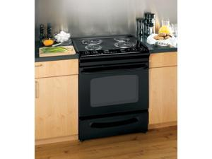 "General  Electric  JSP39DNBB:  GE  ®  30""  Slide-In  Electric  Range  with  Self-Cleaning  Oven"