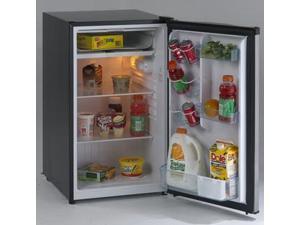 Avanti  RM4436SS:  Model  RM4436SS  -  4.4  CF  Counterhigh  Refrigerator  -  Black  w/Stainless  Steel  Door