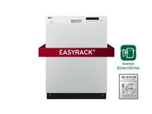 Lg  LDS5040WW:  Semi-Integrated  Dishwasher  with  Flexible  EasyRack  System