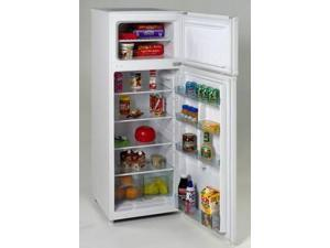 Avanti  RA7306WT:  Model  RA7306WT  -  7.4  CF  Two  Door  Apartment  Size  Refrigerator  -  White