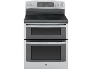 """General  Electric  JB870SFSS:  GE  ®  30""""  Free-Standing  Electric  Double  Oven  Range  with  Convection"""