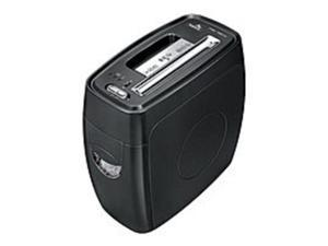 Fellowes Powershred 3271301 PS-12Cs 12 Sheets Cross-Cut Shredder - Black