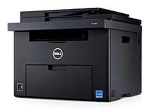 Dell CGFYN C1760nw Monochrome Printer - Laser - 600 dpi - 15 ppm (Mono)/12 ppm (Color) - USB, LAN - AC 120V - 150 Sheets