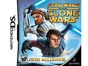 Lucas Arts Star Wars The Clone Wars Jedi Alliance Video Game for Nintendo DS