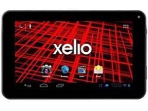 Xelio P717A-BK 7-inch Tablet PC - 1 GHz Processor - Wi-Fi - 512 MB RAM - 4 GB Memory - Android 4.1.1 Jelly Bean - Black