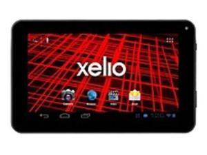 Xelio P1001A-BK 4 GB 10.1-inch Tablet PC - 1 GHz Processor - 512 MB RAM - Android 4.1.x Jelly Bean - Black