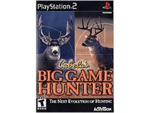 Activision 047875750012 Cabelas Big Game Hunter for PlayStation 2