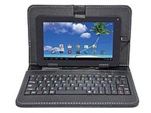 Proscan PLT7223G-BLACK Tablet PC with Keyboard Case - 1.2 GHz 3 Core Processor - 512 MB RAM - 8 GB Flash Memory - 7.0-inch ...