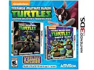 Activision 047875770645 Teenage Mutant Ninja Turtles: Master Splinter's Training Pack - Action/Adventure Game - Nintendo 3DS