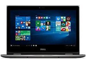 Dell Inspiron I5368-10025GRY 2-in-1 Laptop PC - Intel Core i7-6500U 2.5 GHz Dual-Core Processor - 8 GB DDR3 SDRAM - 256 GB Solid State Drive - 13.3-inch Touchscreen Display - Windows 10 - Gray