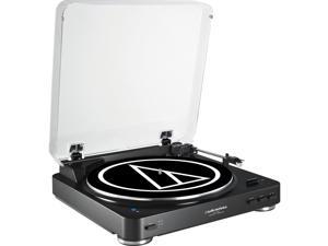 Audio Technica AT-LP60BK-BT Black Fully Automatic Turntable with Bluetooth