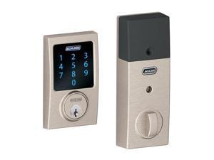 Schlage BE469NX-CEN Century Touch Screen Electronic Keypad Deadbolt with Built-i