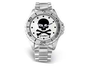 Haurex Italy Womens 7K374XWS White Dial Stainless Steel Watch