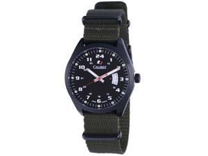 Calibre Men's Trooper Black Dial Watch