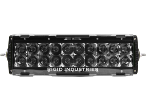 "Rigid Industries 11092 10"" E-Series Light Cover - Clear - trim 4"" & 6"""