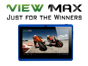"ViewMax ® Tablet PC 7"" HD Touch Screen AW13 1.2GHz DDR3 512MB HDD 16GB WiFi 4X-GPU Graphic Accelerator G-Sensor - DUAL CAMERA ..."