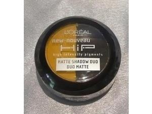 L'Oreal Paris HiP Studio Secrets Professional Matte Shadow Duos, Striking, 0.08