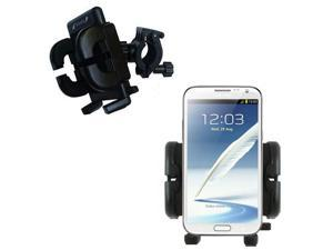Handlebar Holder compatible with the Samsung Galaxy Note II
