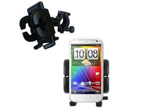 Handlebar Holder compatible with the HTC Sensation XL