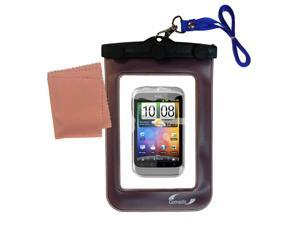 Waterproof Case compatible with the HTC Wildfire S
