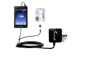 Double Wall Home Charger with tips including compatible with the Asus MeMO Pad HD7
