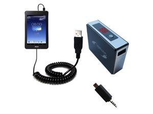 Rechargeable Pack Charger compatible with the Asus MeMO Pad HD7