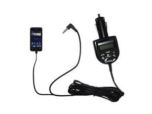 FM Transmitter & Car Charger compatible with the Huawei Premia