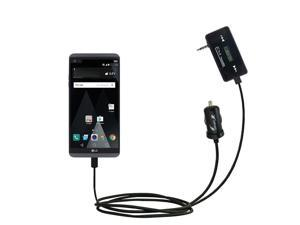 FM Transmitter Plus Car Charger compatible with the LG V20