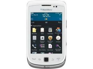 Blackberry Torch 9810 Silver 3G Unlocked GSM Phone (White)