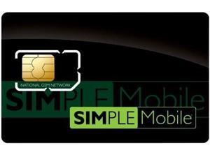 Simple Mobile Sim Card GSM Prepaid Never Activated, Ready for Activation. ($25 / Month Unlimited Talk)