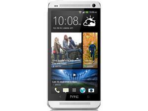 HTC ONE 801N 32GB UNLOCKED GSM GENUINE OEM 4G LTE 800/1800/2600 & 3G HSDPA 850/900/2100 & 2G QUAD BAND (White)