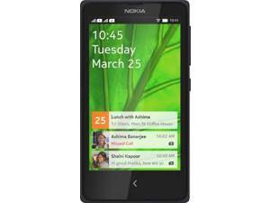 Nokia X RM980 Dual Sim Android Quad Band Unlocked Phone (Black)