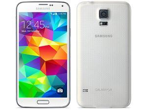 Samsung Galaxy S5 SM-G900 G900H Unlocked Quad Band Phone, Most advance phone in todays market (White)