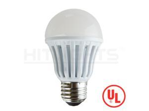 HitLights A19 LED Light Bulb / E26 Base / 6W / 40W Replace / 450 Lumen / Non-Dimmable / UL Listed/ 6000K / Cool White
